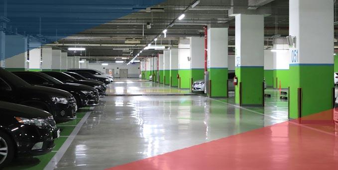 gestão de estacionamentos